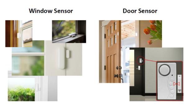 Solução de sensores robustos para alarme residencial