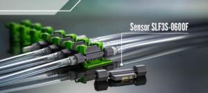 Sensor de alto nível na detecção de fluxo de líquido