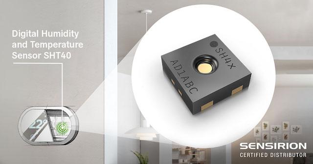 Sensores de umidade e temperatura, promovem a melhoria na qualidade do ar
