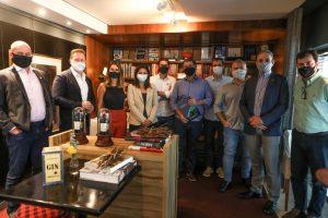 Lideranças empresariais do WTC-Sul se reúnem com o vice-prefeito eleito de Florianópolis