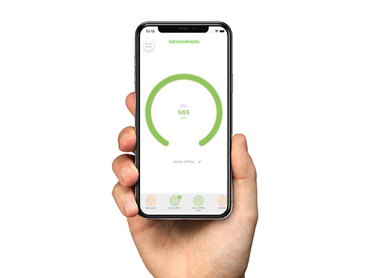 Aplicativo Monitor de CO2