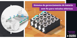 Sistema de gerenciamento de bateria sem fio para veículos elétricos