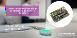 Read more about the article Sensirion disponibiliza design de referência de monitor de CO2