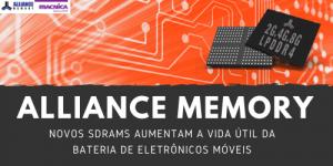 Novos SDRAMS aumentam a vida útil da bateria de eletrônicos móveis
