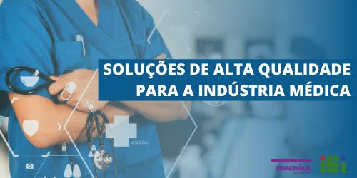 Soluções para a indústria médica
