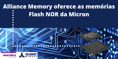 Read more about the article Alliance Memory e Flash NOR