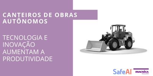 Automação de máquinas pesadas na construção civil