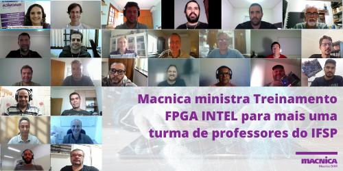 Macnica ministra Treinamento FPGA INTEL para mais uma turma de professores do IFSP