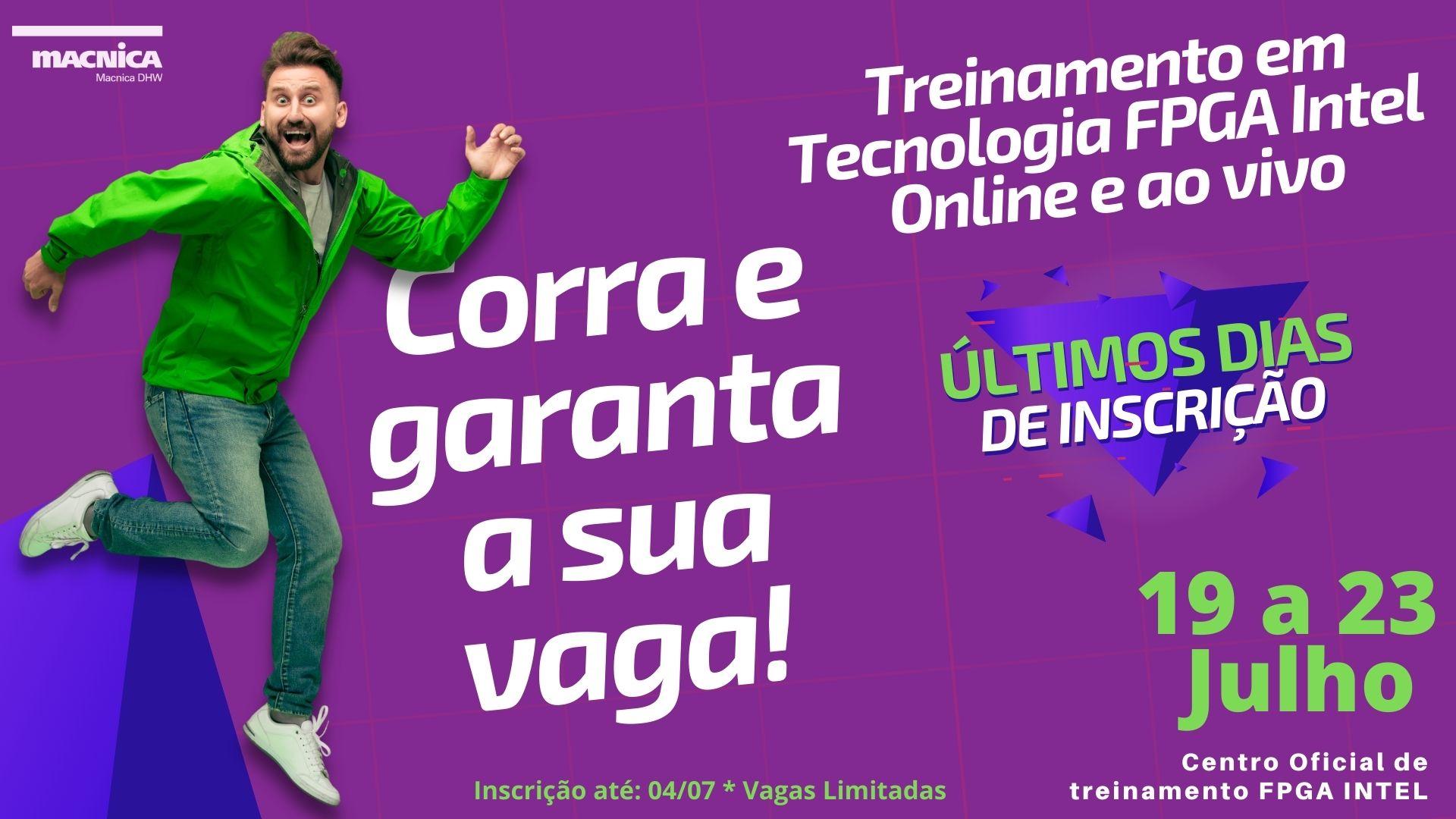 You are currently viewing Corra e garanta a sua vaga!