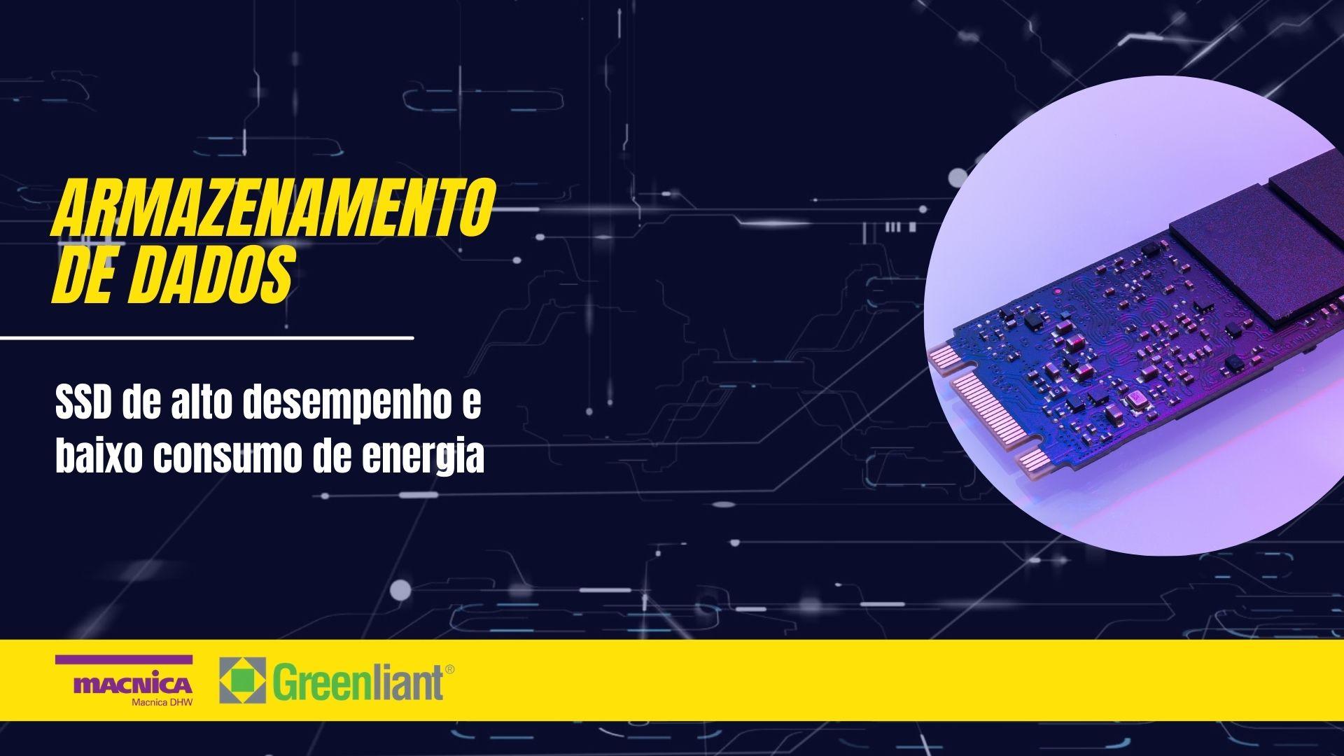 SSD de alto desempenho e baixo consumo de energia