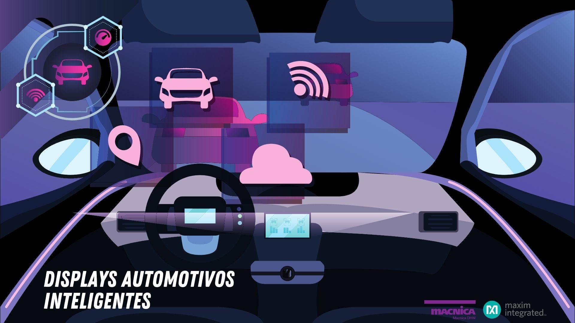 Displays automotivos inteligentes