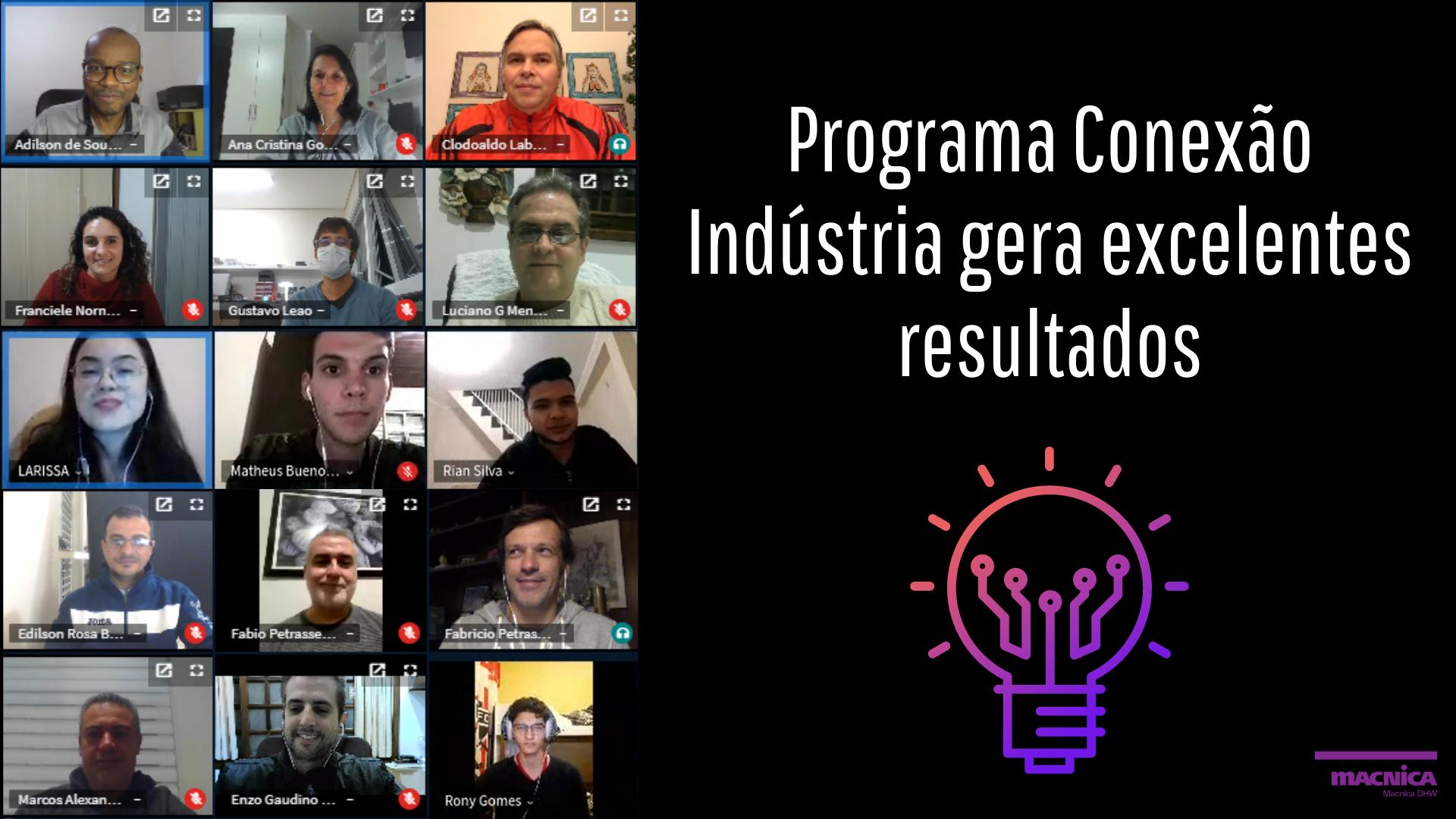 You are currently viewing Programa Conexão Indústria gera excelentes resultados
