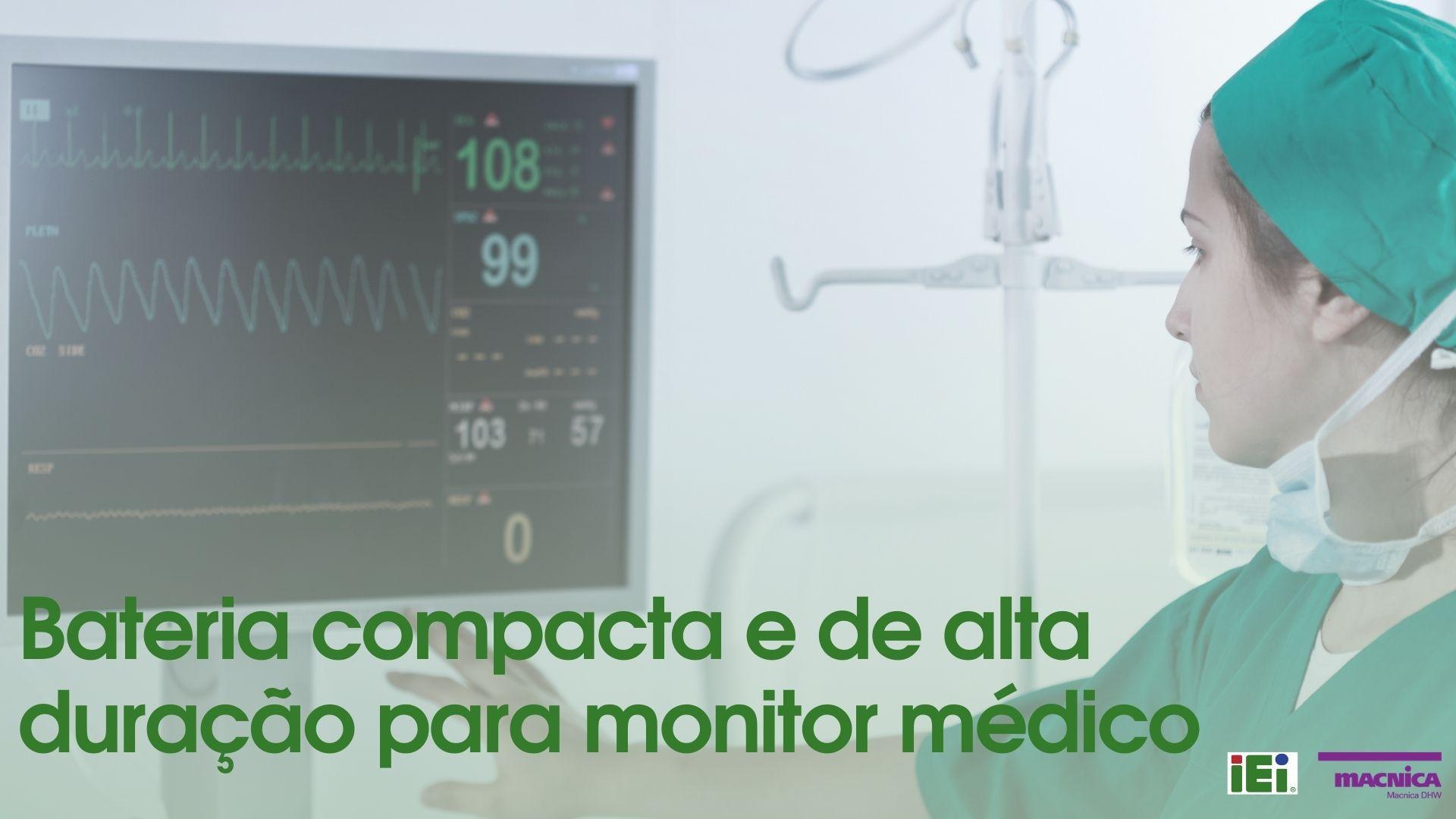 You are currently viewing Monitor médico com bateria de alta duração
