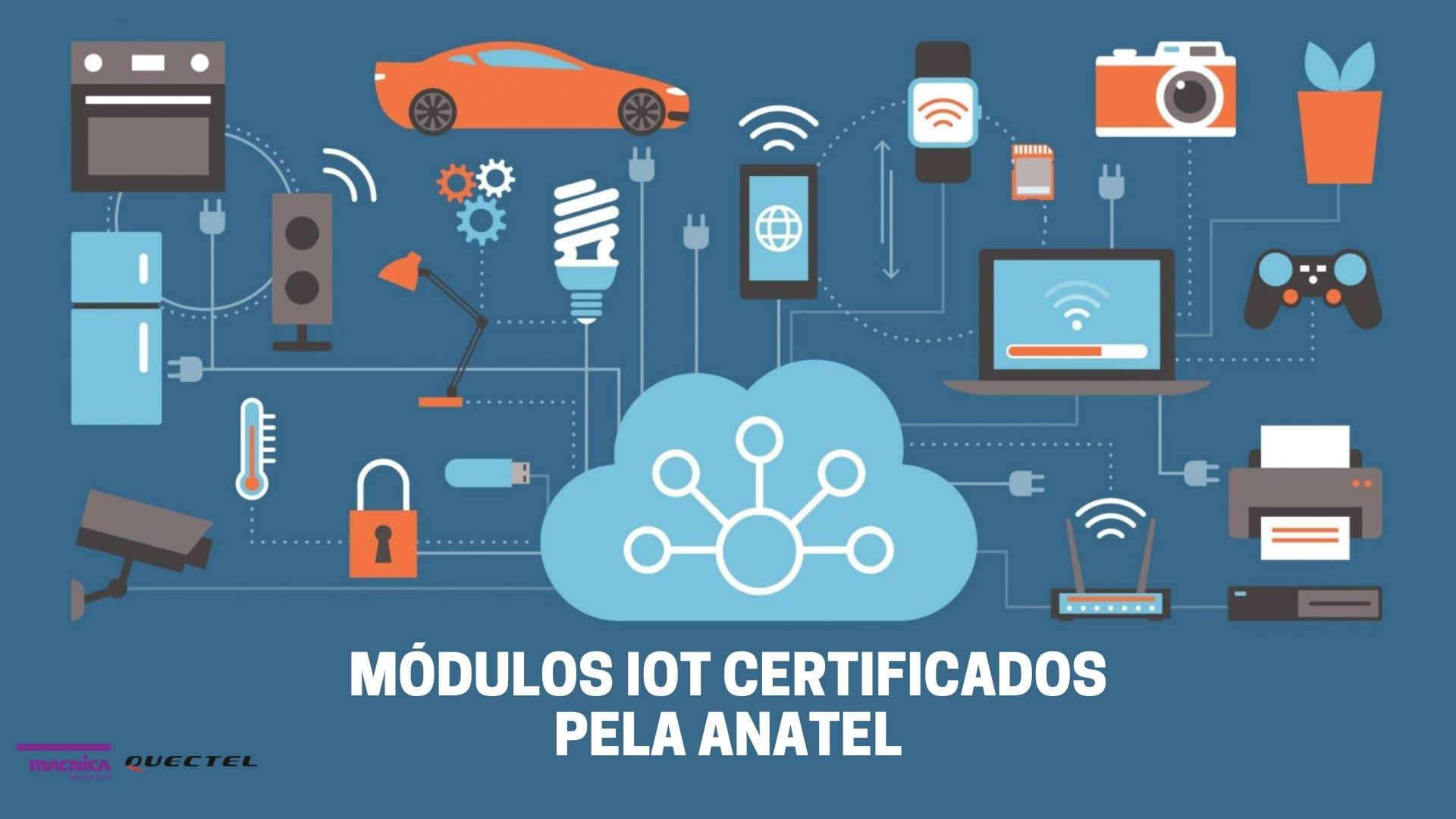 Read more about the article Módulos IoT certificados pela Anatel