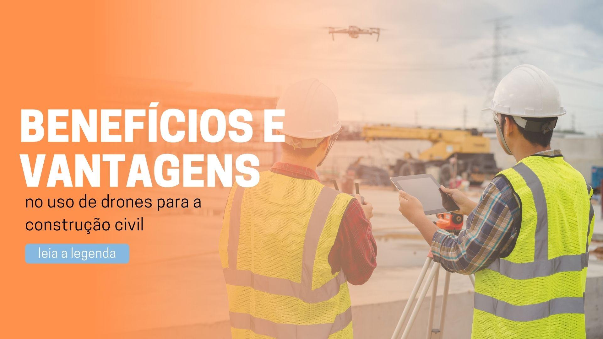 You are currently viewing Drones para a construção civil
