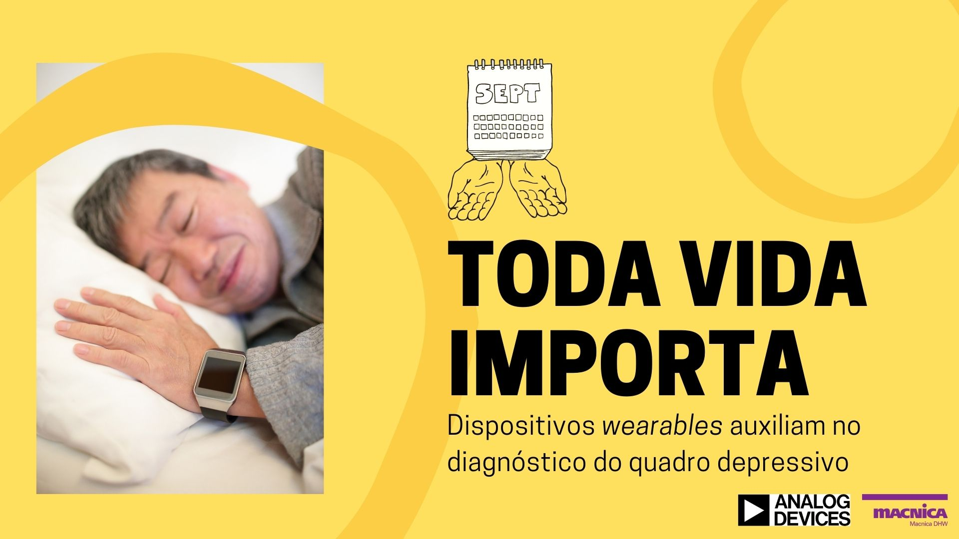 You are currently viewing Dispositivos wearables: Setembro Amarelo