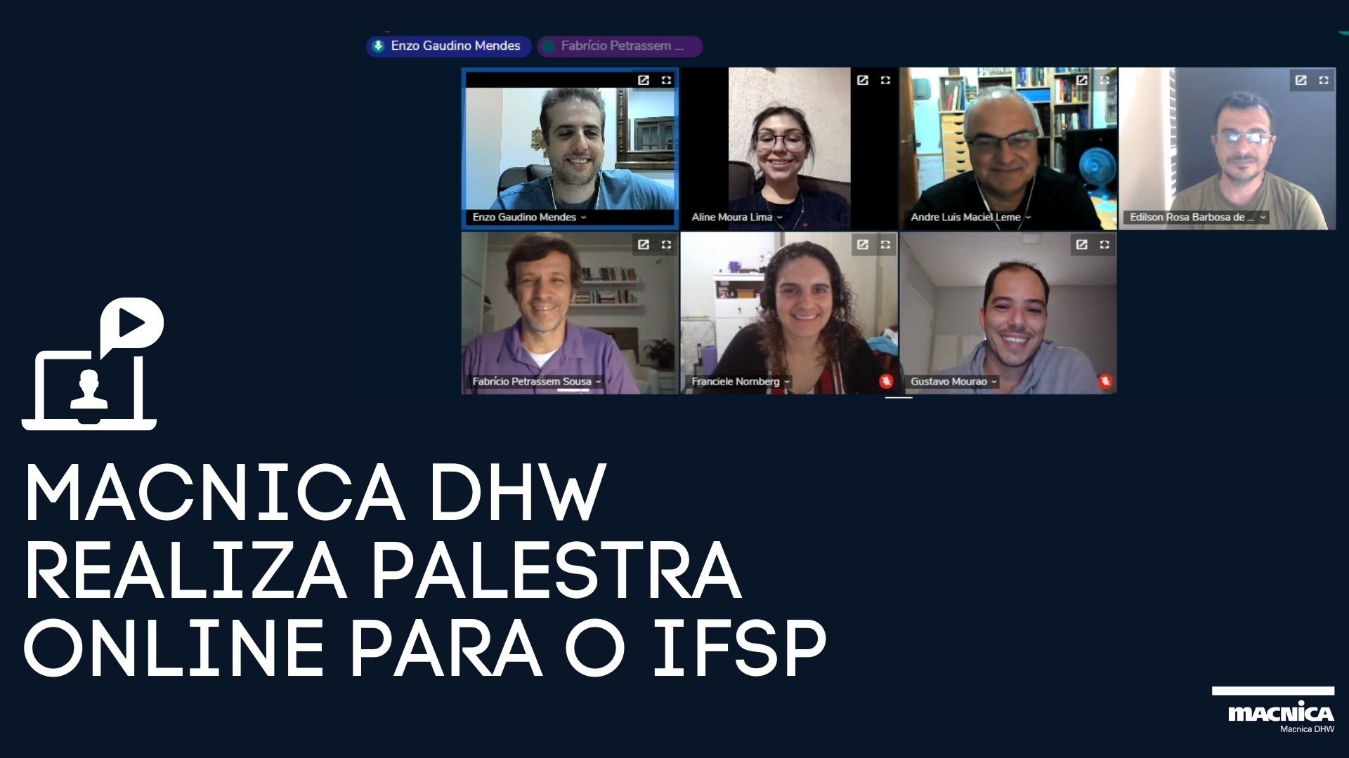 Read more about the article Macnica DHW realiza palestra online para o IFSP